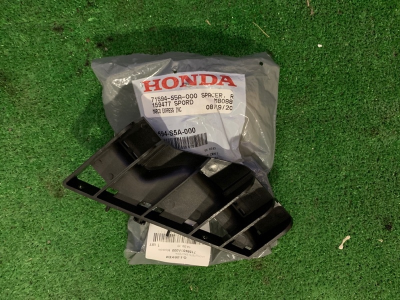 Крепление бампера Honda City Civic Ferio ES2 D14Z5 заднее правое