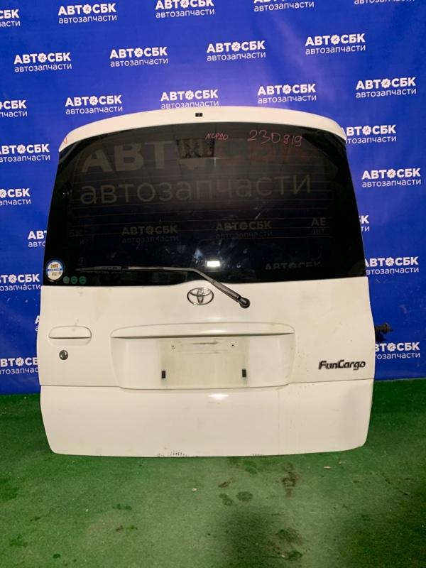 Дверь задняя Toyota Funcarco NCP20