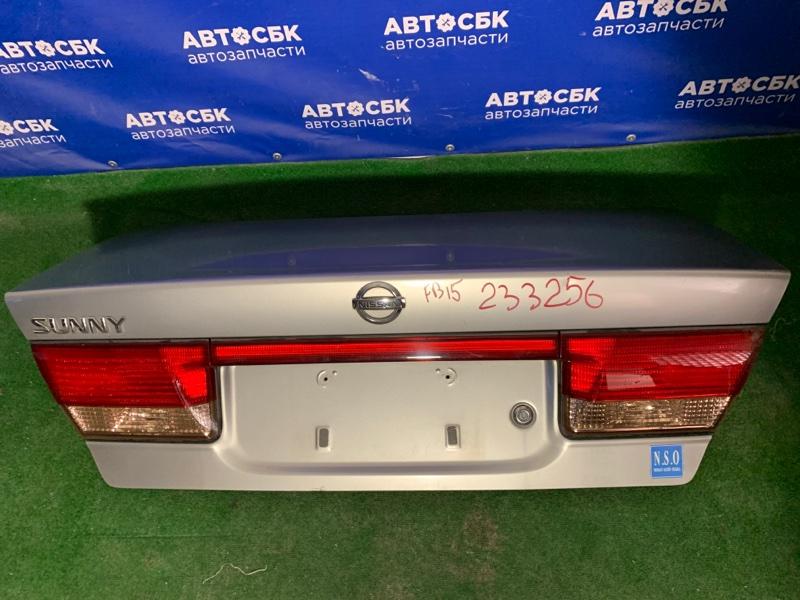 Крышка багажника Nissan Sunny FB15