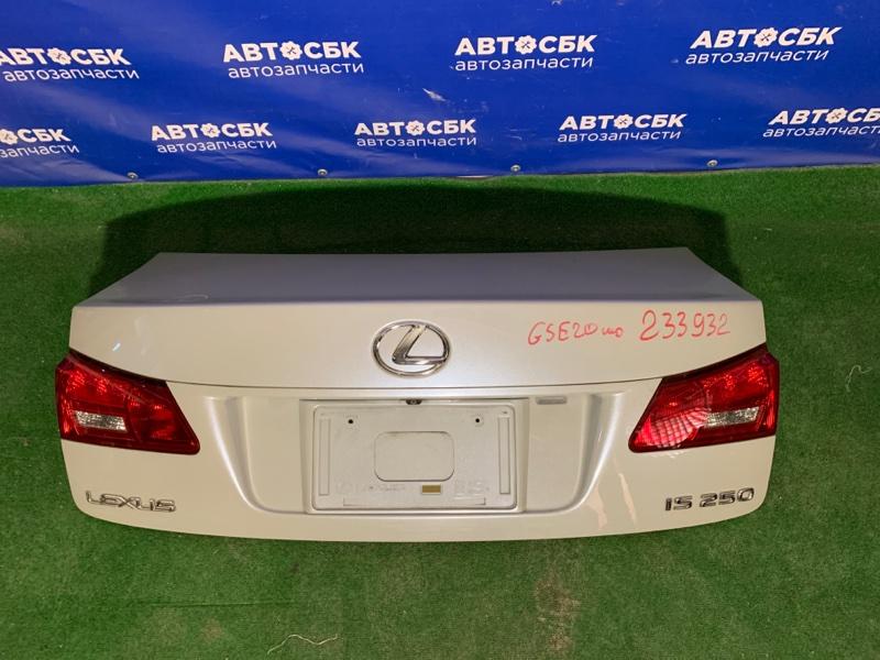 Крышка багажника Lexus Is250 GSE20 2GRFSE 2005