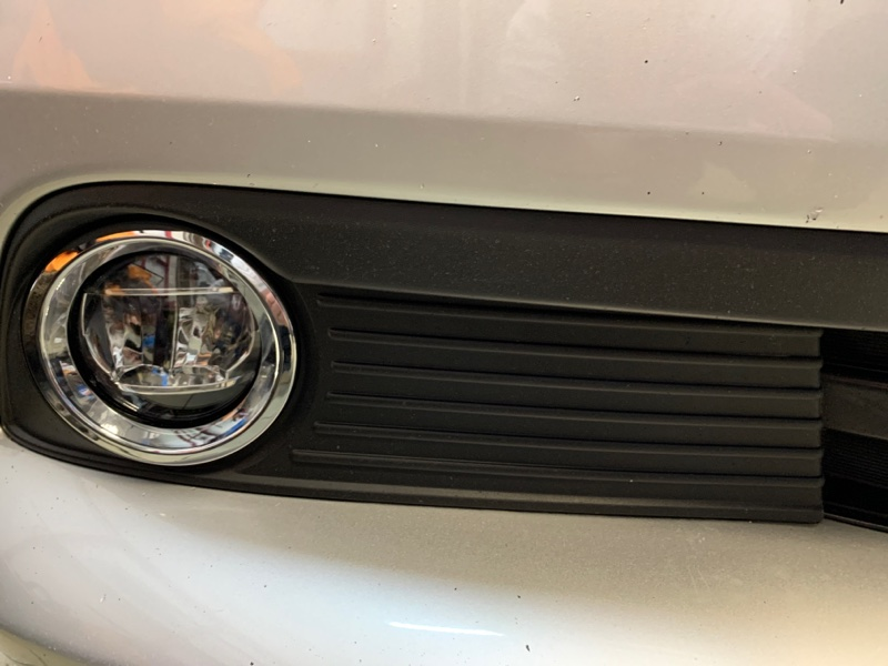 Ободок туманки Toyota Noah ZRR80G 2ZRFXE 2014 передний
