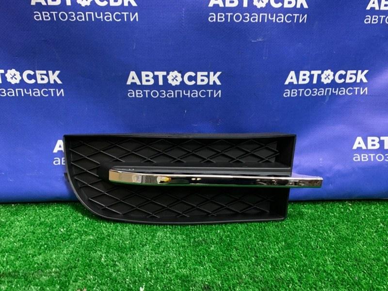Заглушка бампера Chevrolet Aveo T250 05 передняя левая