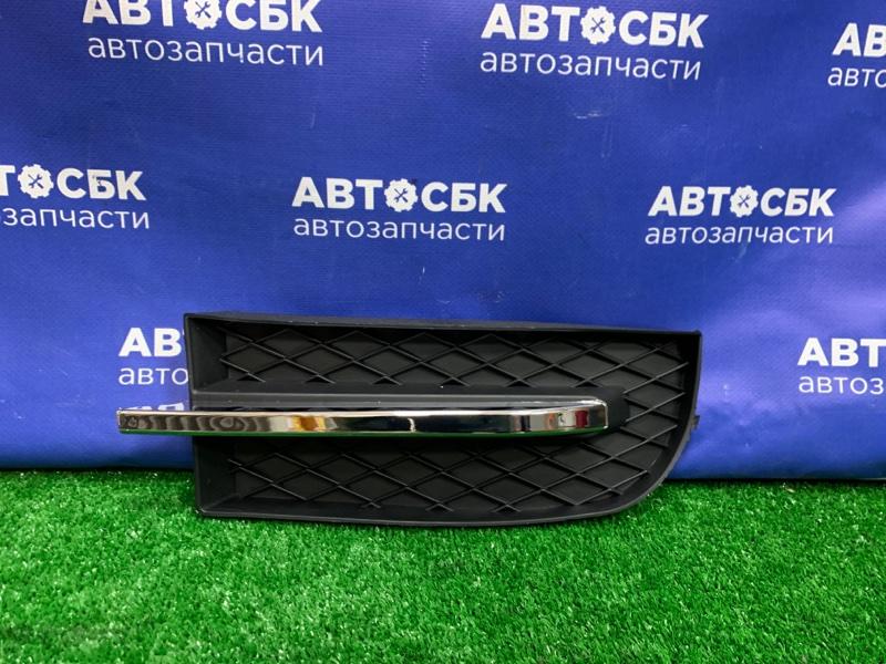 Заглушка бампера Chevrolet Aveo T250 05 передняя правая