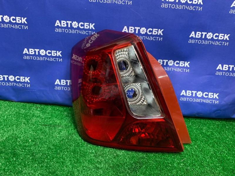 Стоп-сигнал Chevrolet Lacetti 4D 06 левый