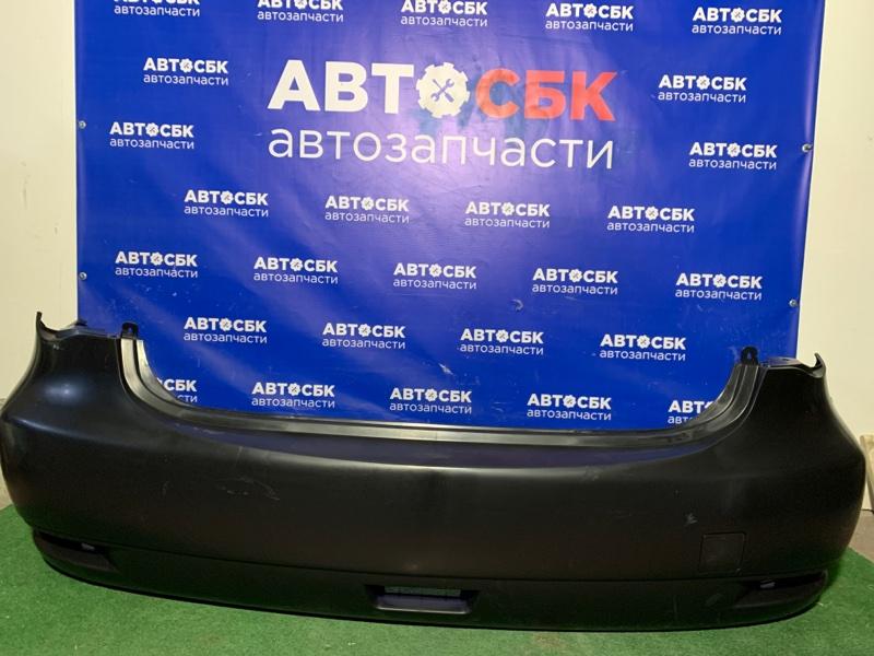Бампер Nissan Almera G15 задний
