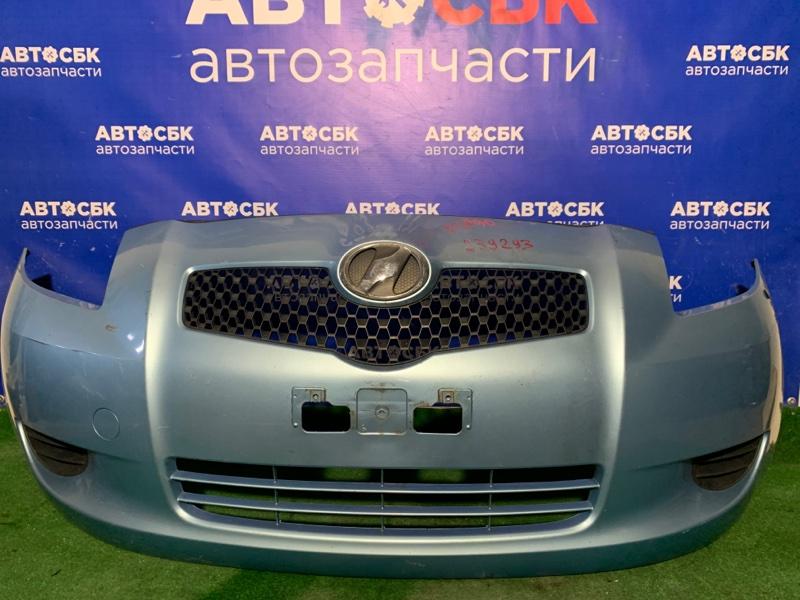 Бампер Toyota Vitz NCP91 1NZFE 2005 передний