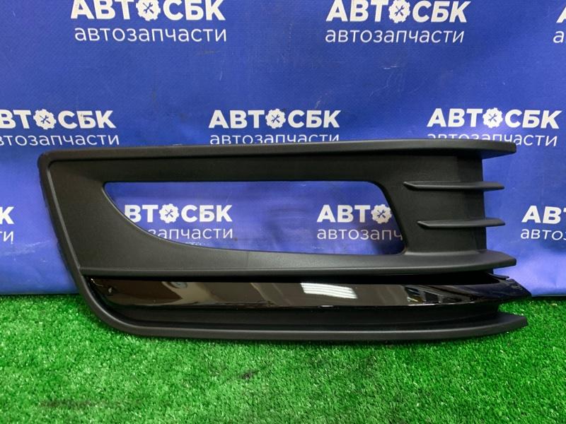 Оправа туманки Volkswagen Polo CFNA 2014 передняя правая