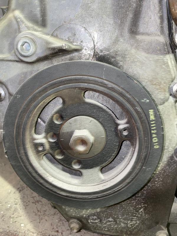 Шкив коленвала Nissan Juke YF15 HR15DE