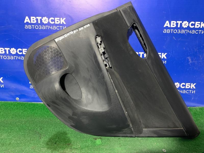 Обшивка дверей Nissan Sentra B17 12 задняя правая