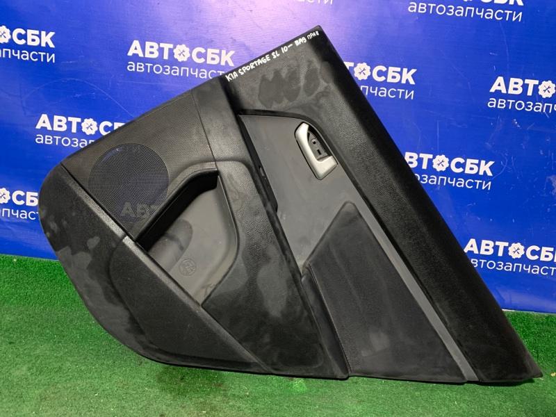 Обшивка дверей Kia Sportage SL 10 задняя правая