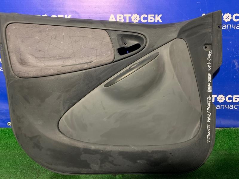 Обшивка дверей Toyota Echo NCP10 передняя левая