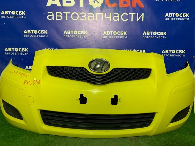 Бампер Toyota Vitz KSP90 1KRFE 2007 передний