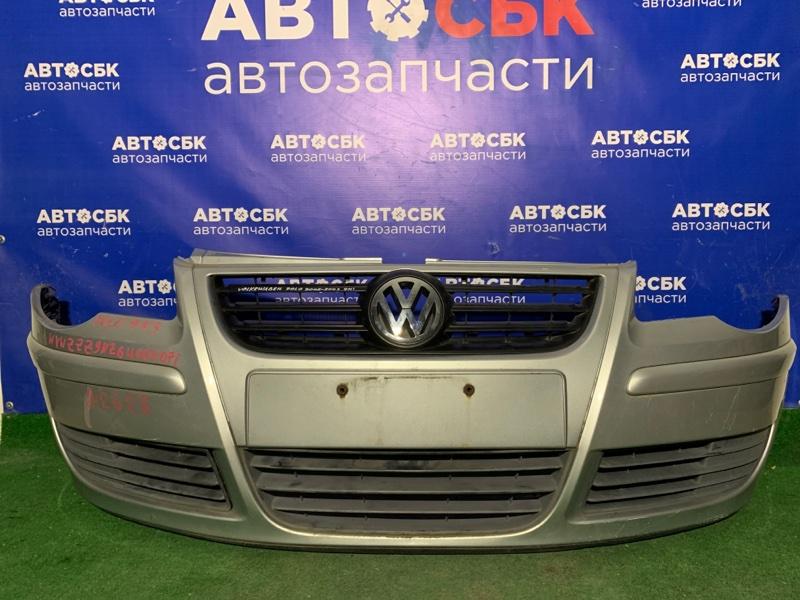 Бампер Volkswagen Polo 9N AUA 2005 передний