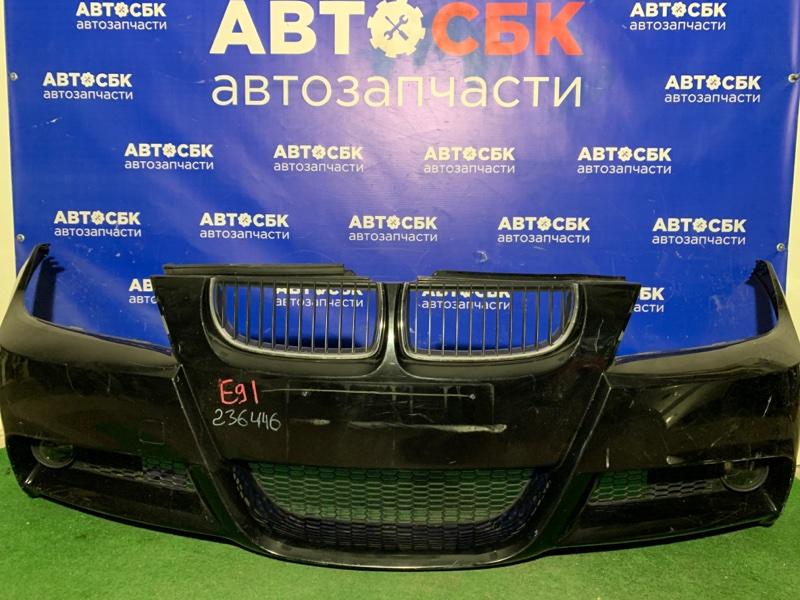 Бампер Bmw 3-Series E90 M57D30TU2 2005 передний