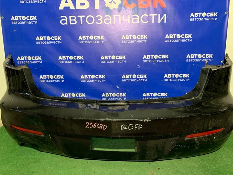 Бампер Mazda 3 BL12F BLA2Y 2009 задний