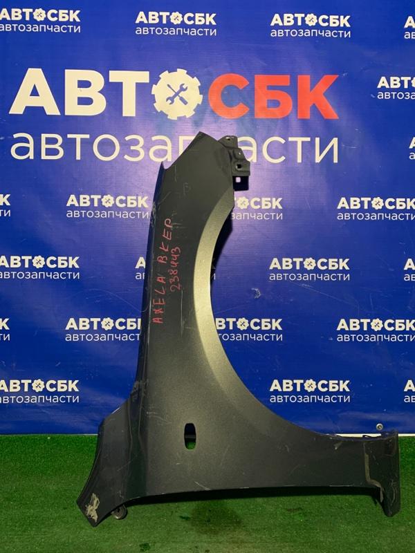 Крыло Mazda 3 BK3P переднее правое