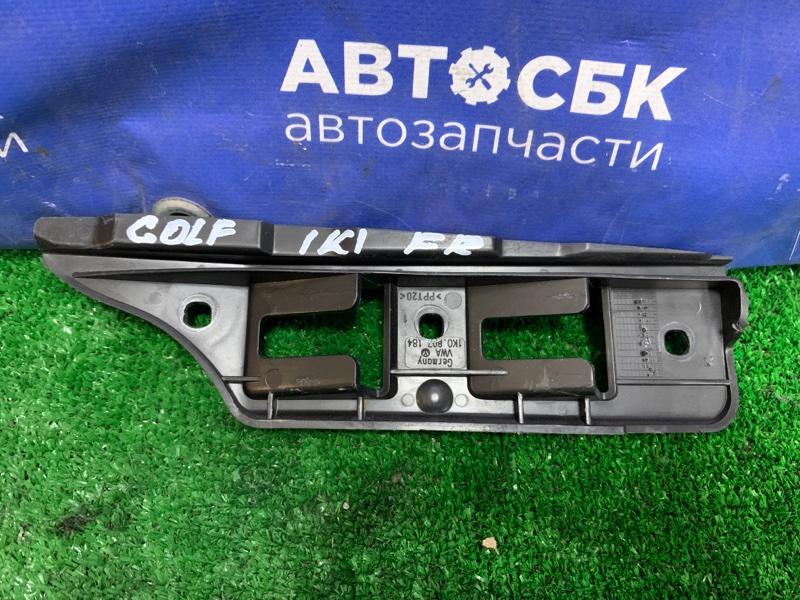 Крепление бампера Volkswagen Golf 1K1 AXX 2003 переднее правое