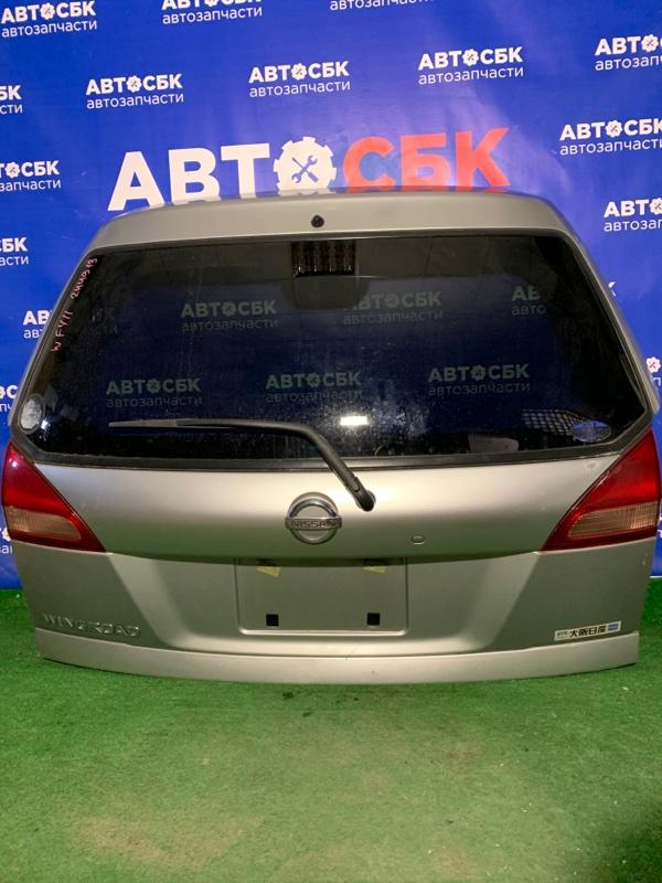 Дверь багажника Nissan Wingroad VENY11 QG13DE 2002