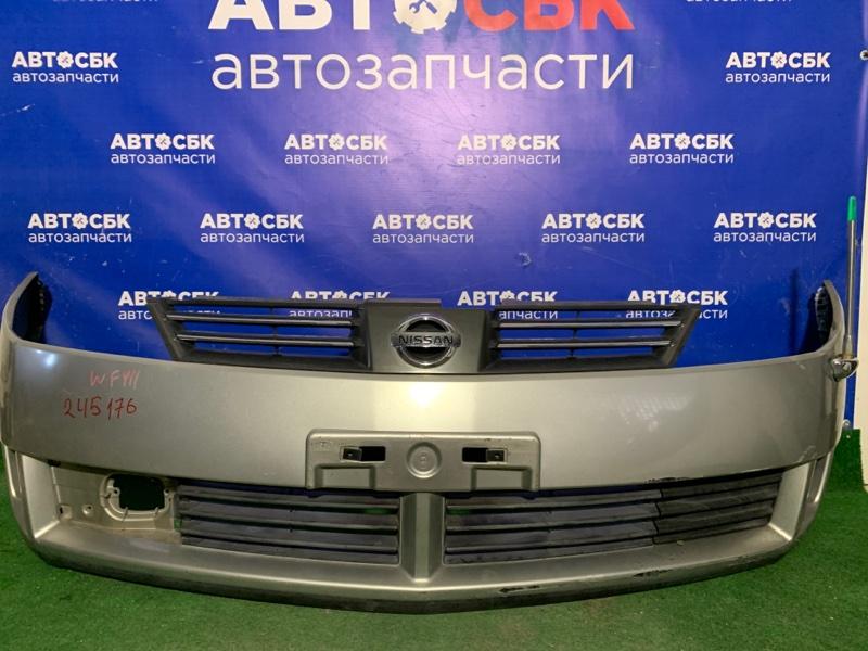 Бампер Nissan Wingroad VENY11 QG13DE 2002 передний