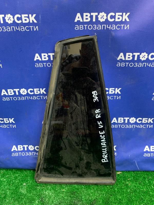 Форточка двери Brilliance V5 4A92S 2014 задняя правая