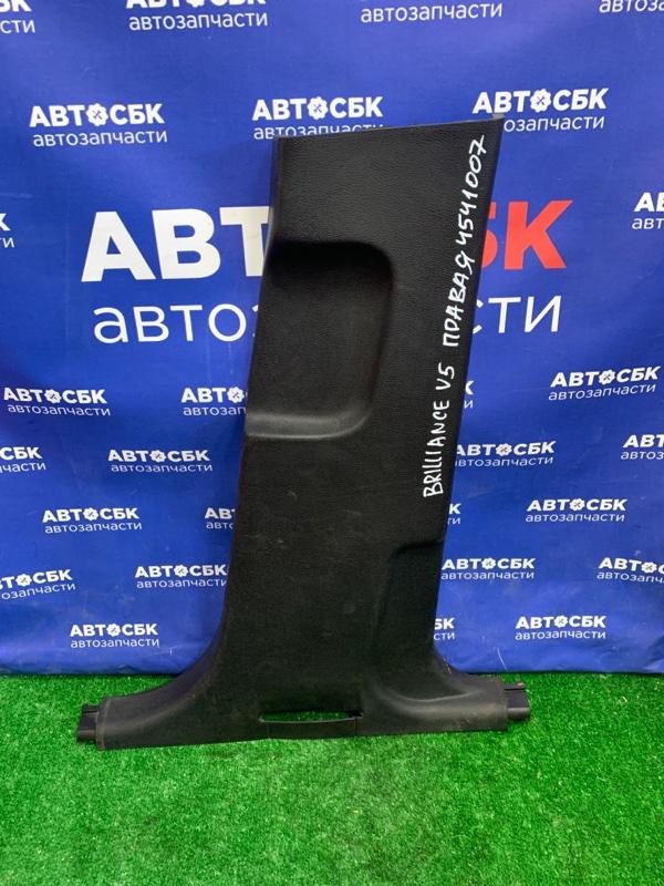 Пластик центральной стойки Brilliance V5 4A92S 2014 передний правый