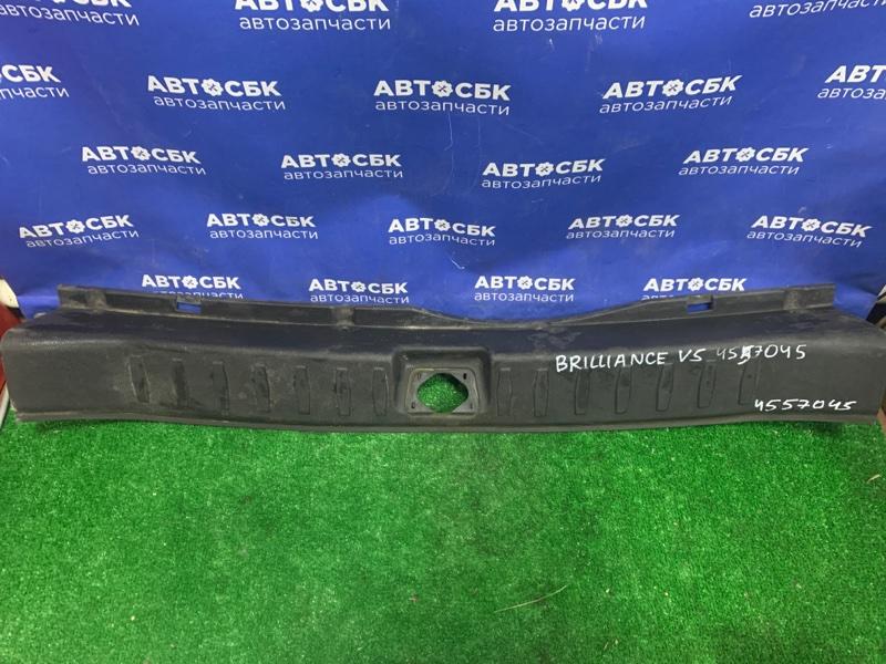 Обшивка багажника на заднюю панель Brilliance V5 4A92S 2014 задняя