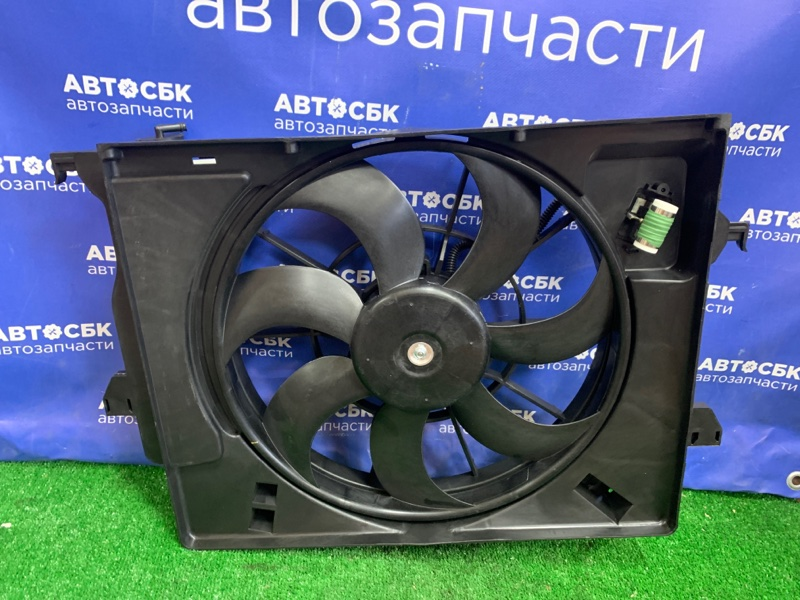 Диффузор радиатора Hyundai Rio QB G4FA