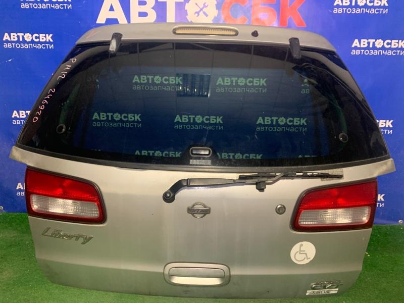 Дверь багажника Nissan Liberty PM12 QR20DE