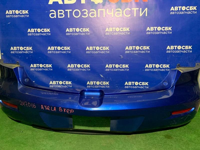 Бампер Mazda Axela BK3P L3VDT 2003 задний