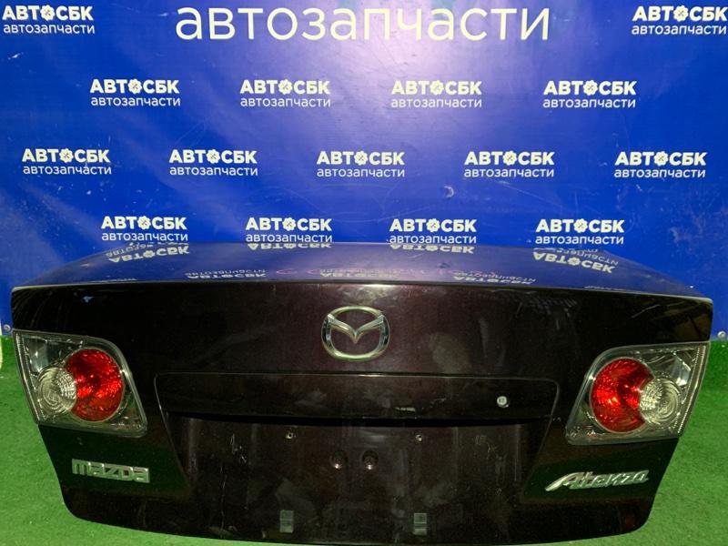 Крышка багажника Mazda Atenza GG3P LFVE 2005