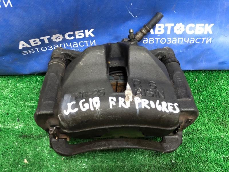 Суппорт Toyota Progres JCG10 1GFE передний правый