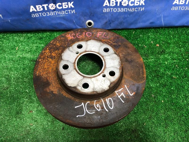 Тормозной диск Toyota Progres JCG10 1GFE передний левый