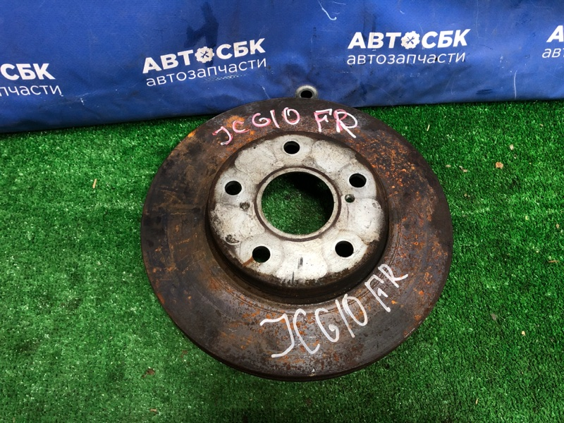 Тормозной диск Toyota Progres JCG10 1GFE передний правый