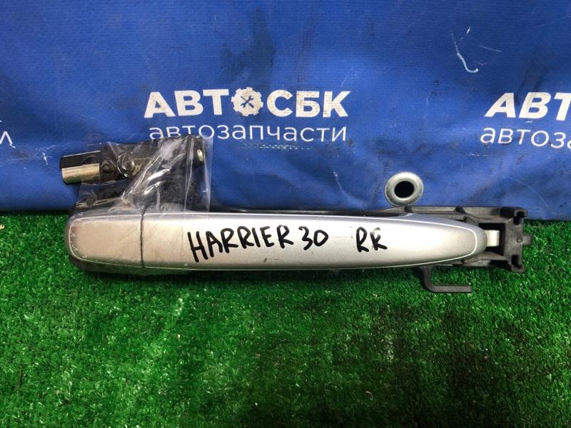 Ручка двери Toyota Harrier ACU30 2AZFE 2003 задняя правая