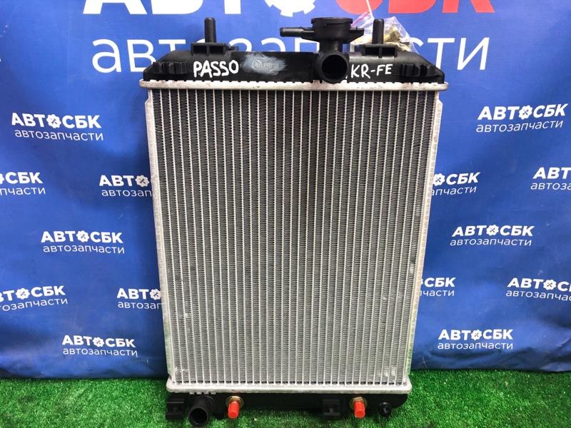 Радиатор основной Toyota Passo 1KR