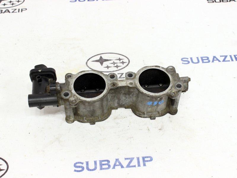 Механизм изменения длины впускного коллектора Subaru Forester S12 2003 правый