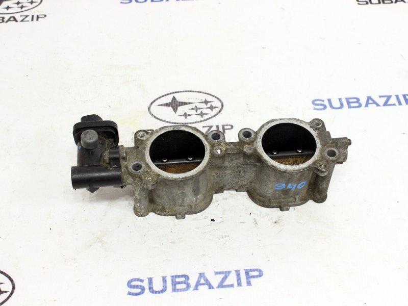 Механизм изменения длины впускного коллектора Subaru Forester S12 2003 левый