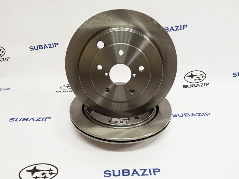 Диск тормозной Subaru Tribeca W10 2004 задний