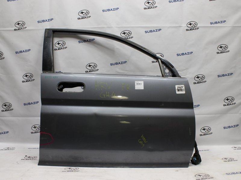 Дверь Honda Hr-V GH4 D16A 1996 передняя правая