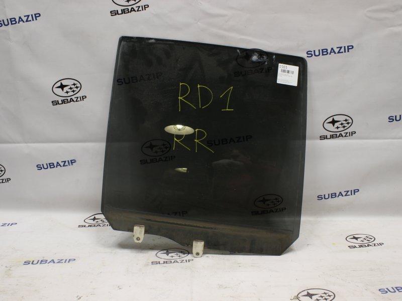 Стекло двери Honda Cr-V RD1 B20B 1996 заднее правое