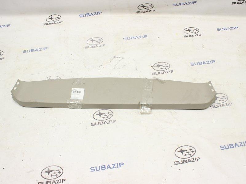 Обшивка двери багажника Subaru Legacy B13 2003 верхняя