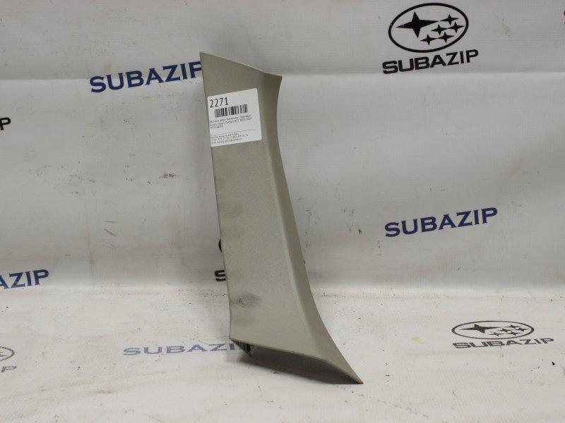 Обшивка двери багажника Subaru Outback B13 2003 правая верхняя