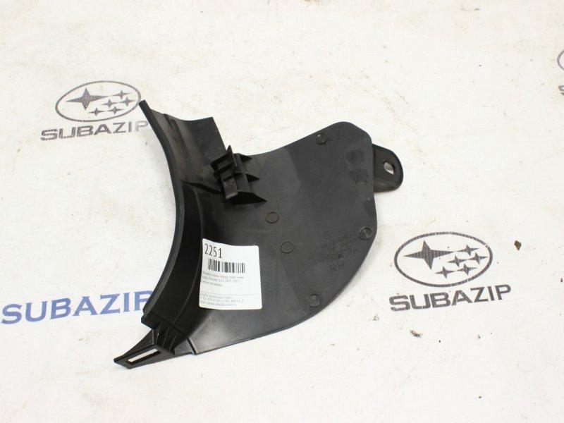 Обшивка салона Subaru Forester S12 2007 передняя правая нижняя
