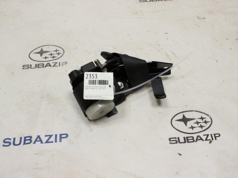 Ремень безопасности Subaru Forester S12 2007 задний левый