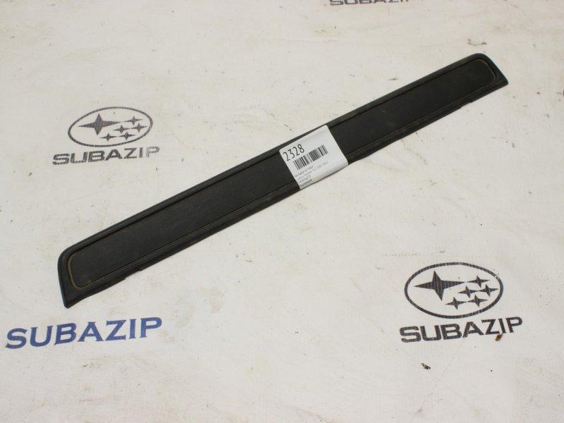 Накладка на порог Subaru Forester S12 2007