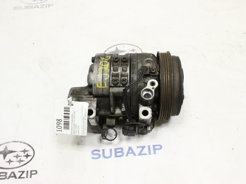 Компрессор кондиционера Subaru Forester S10 1996