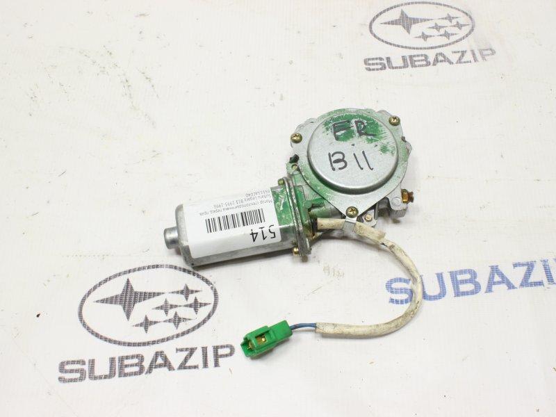 Мотор стеклоподъемника Subaru Impreza G10 1992 передний