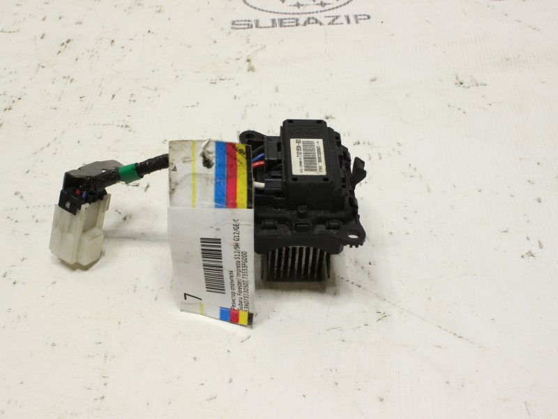 Резистор отопителя Subaru Forester S12 2007
