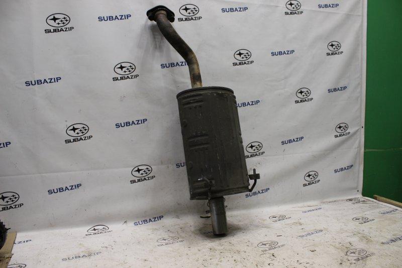 Глушитель задняя часть Honda Cr-V RD4 K20A 2002 задний
