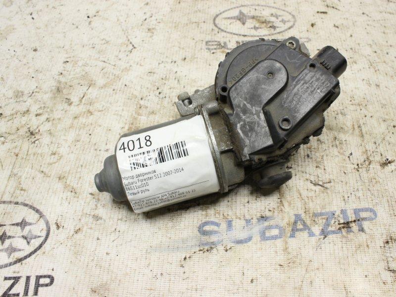 Мотор дворников Subaru Forester S12 2007